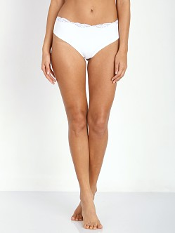 Only Hearts So Fine Triangle Hi Waist Brief White