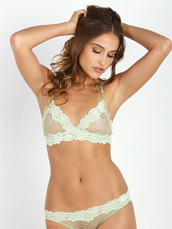 Lonely Bonnie Soft Cup Bra Pistachio