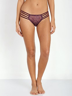 Lonely Lulu Strap Brief Damson