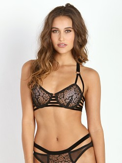 Lonely Lulu Strap Bra Black
