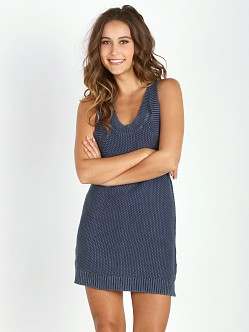 One Teaspoon Salty Sailor Knit Dress Indigo