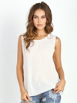 One Teaspoon Le Beat Tee Ivory