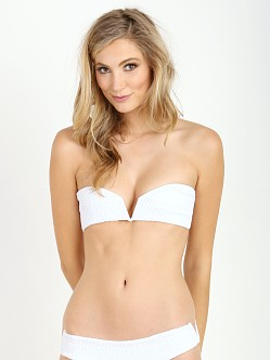 Tori Praver Chai Top White