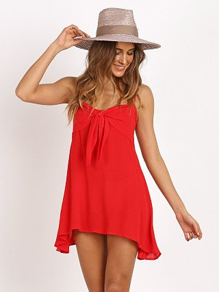 For Love & Lemons Toledo Mini Dress Chili Pepper