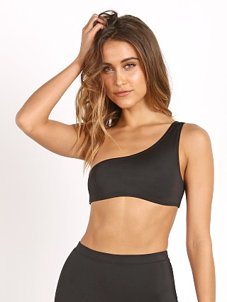 Solid & Striped The Cindy Bikini Top Black