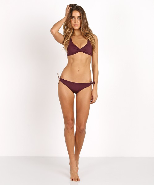 Solid & Striped The Jane Bikini Bottom Bordeaux