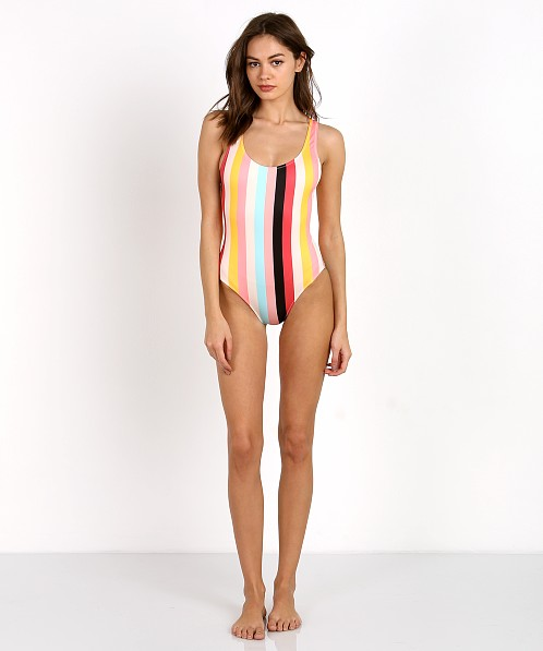 2ed84928953 Soild & Striped The Anne-Marie One Piece Spring Stripe WS-1024-1198 - Free  Shipping at Largo Drive