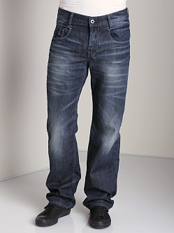 G-Star New Radar Low Loose Jeans Memphis Black Blue Denim