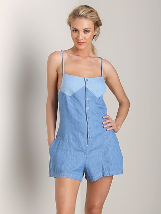 2e40162a15dc One Teaspoon Smokey Jumpsuit Chambray