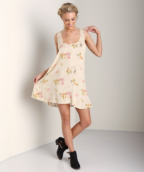 One Teaspoon Feather Rose Dress