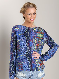 One Teaspoon Mystic Paisley Top