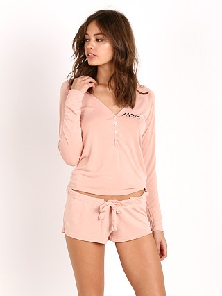 WILDFOX Nice PJ Set Dusty Rose