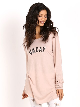 All Things Fabulous Vacay Long Sleeve Vintage Tee Mauve