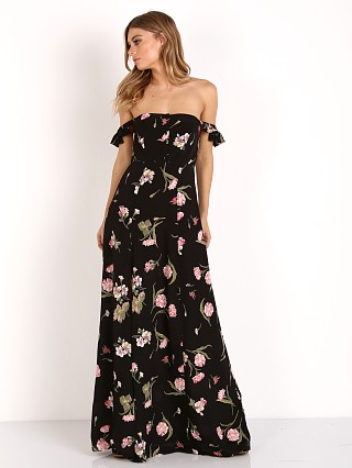 Flynn Skye Bardot Maxi Night Bloom