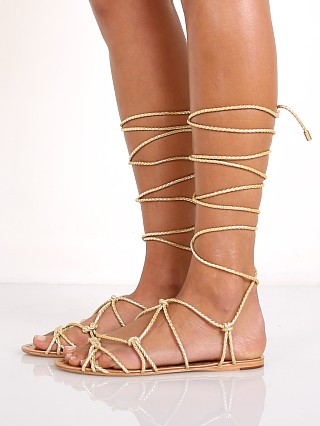 You may also like: Schutz Kathleen Wrap Sandal Platina