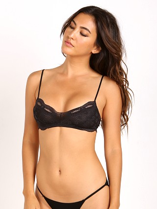 Complete the look: Eberjey India Lace Retro Bralette Black