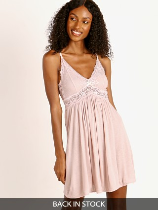 Eberjey Colette Chemise Pink Clay