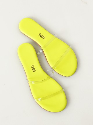 You may also like: Tkees Gemma Sandal Clear Yellow Gem