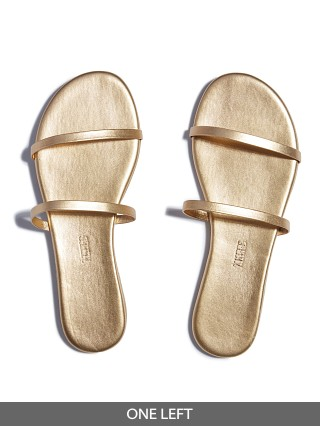 Tkees Gemma Sandal Gold Blink