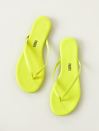 Tkees Lily Sandal Neon Yellow