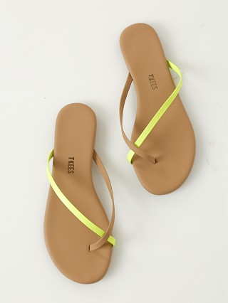Tkees Riley Sandal Neon Yellow