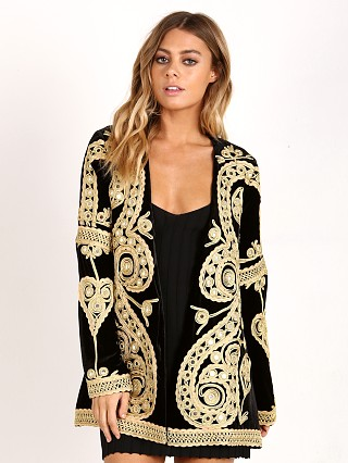 For Love & Lemons Paris Blazer Black
