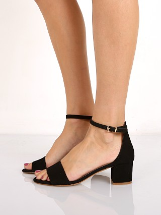 Free People Marigold Block Heel Black