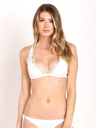 Model in casa blanca Beach Riot Sofia Bikini Top