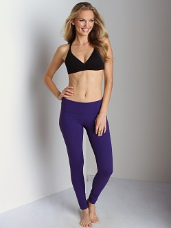 Beyond Yoga  Supplex Long Legging Black Orchid