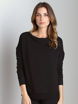 Beyond Yoga Bamboo Fleece Pull Over Black