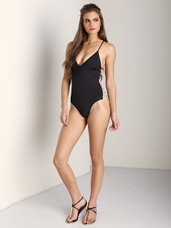L Space Wild Side One Piece Black