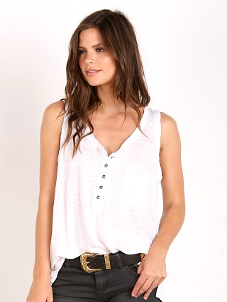 Free People Traveler Tank White