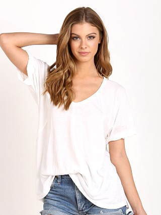 Free People Burnout Free Fallin Tee Ivory