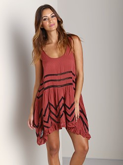 Free People Trapeze Slip Copper Combo