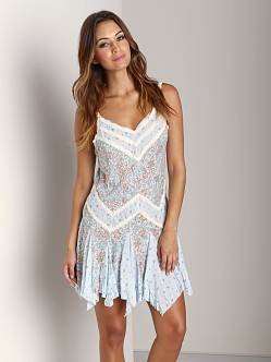Free People Printed Slip Tea Combo