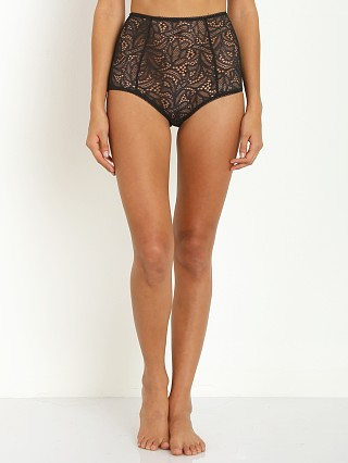 SKIVVIES by For Love & Lemons Honey Buns High Waist Panty Black