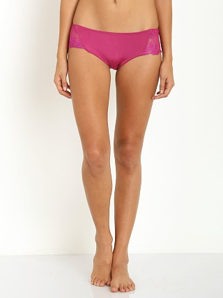 SKIVVIES by For Love & Lemons Flower Bomb Panty Purple Orchid