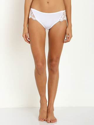 SKIVVIES by For Love & Lemons Flower Bomb Panty White