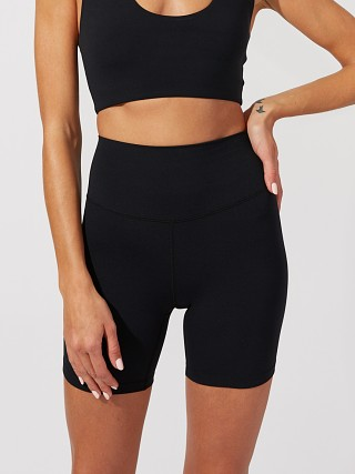 Model in black SPLITS59 Airweight High Waist Short