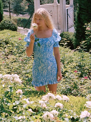 You may also like: Faithfull the Brand Magnolia Mini Dress Roos Tie Dye Blue