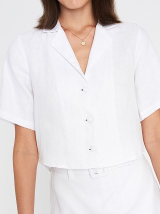 Complete the look: Faithfull the Brand Chaumont Shirt White Linen