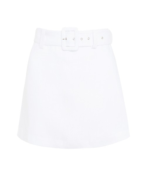 Faithfull the Brand Celia Skort White Linen