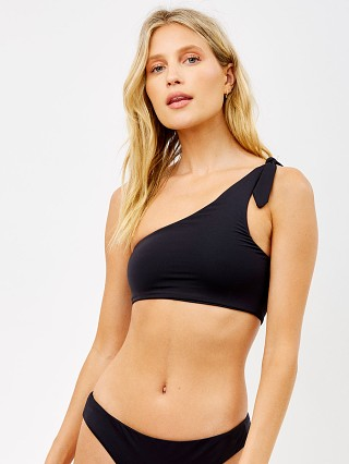 Complete the look: Frankie's Bikinis Eco Taylor Bikini Top Black