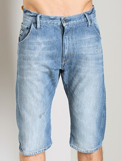 G-Star Arc 3D Loose Tapered Shorts Wheel Denim