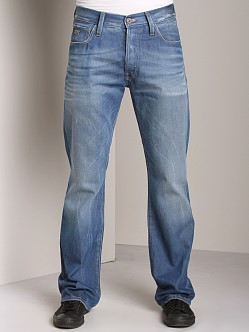 G-Star 3301 Loose Jeans Azurr Denim