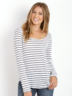 Splendid New Haven Stripe Henley White