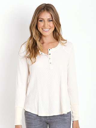 Splendid Thermal Henley Sand Dollar