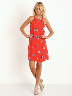 Splendid Ashbury Zip Back Dress Fiesta