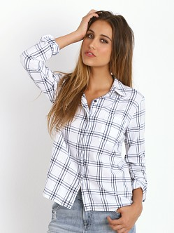 Splendid Aston Flannel Shirt White