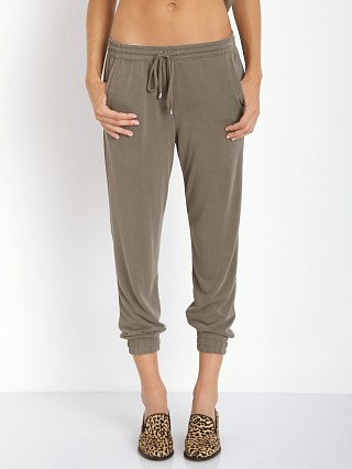 Splendid Sandwash Jersey Pants Hunter